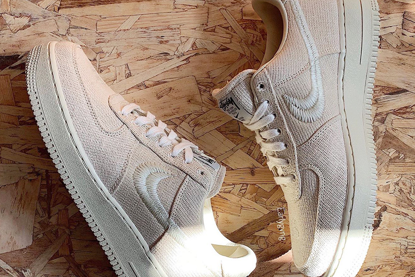 Nike x Stussy Air Force 1 2020 Collaboration