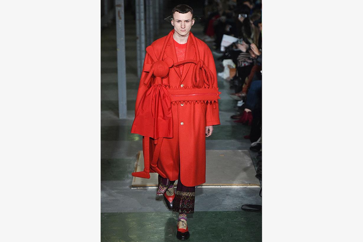 Walter van beirendonck virgil abloh copycat 2021 ss fashion show