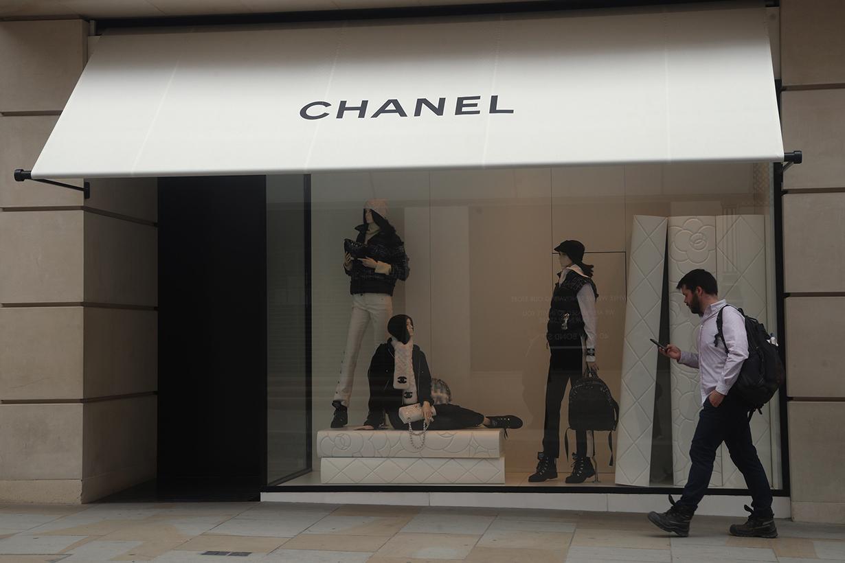 chanel bond street store on sale luxury brand