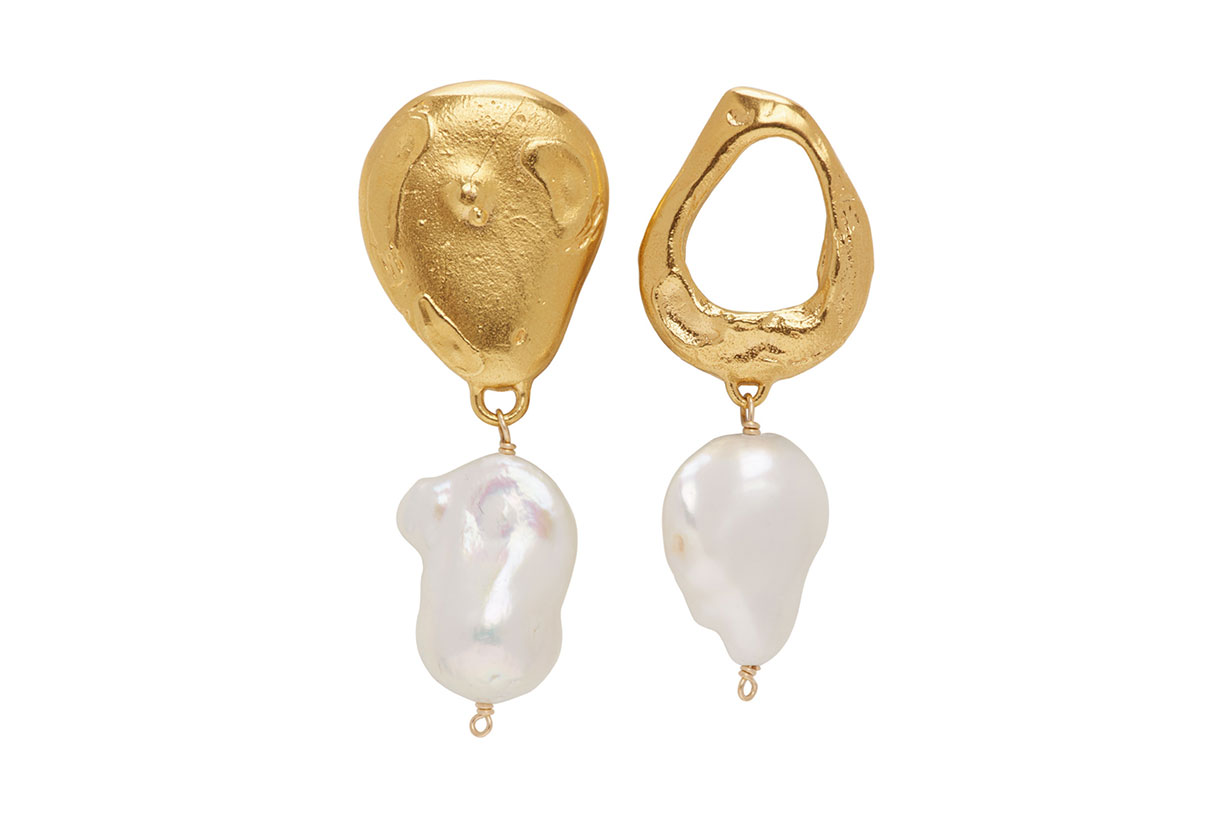 Alighieri Gold 'The Infernal Storm' Earrings