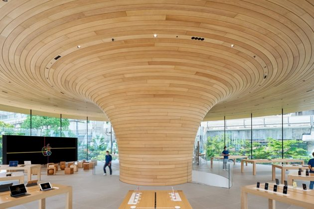 apple park thailand bangkok 2020 new central work open
