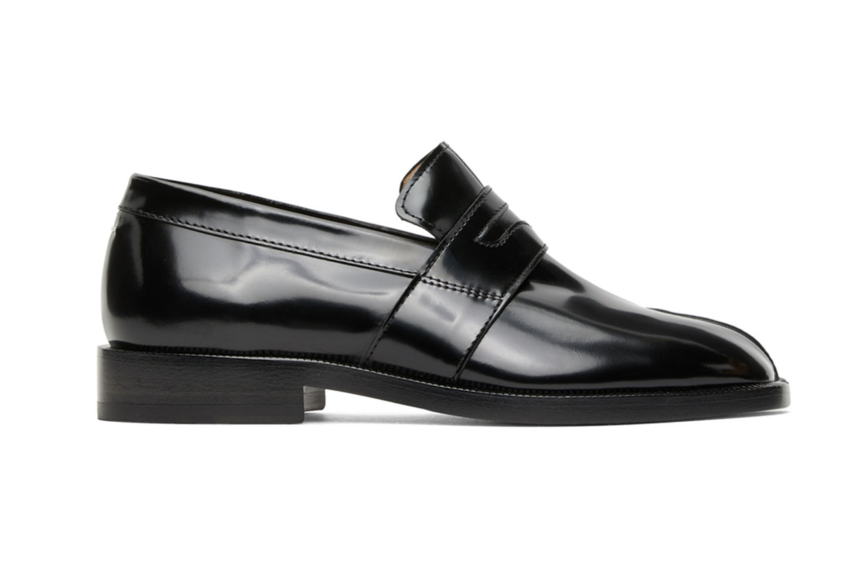 Black Tabi Loafers