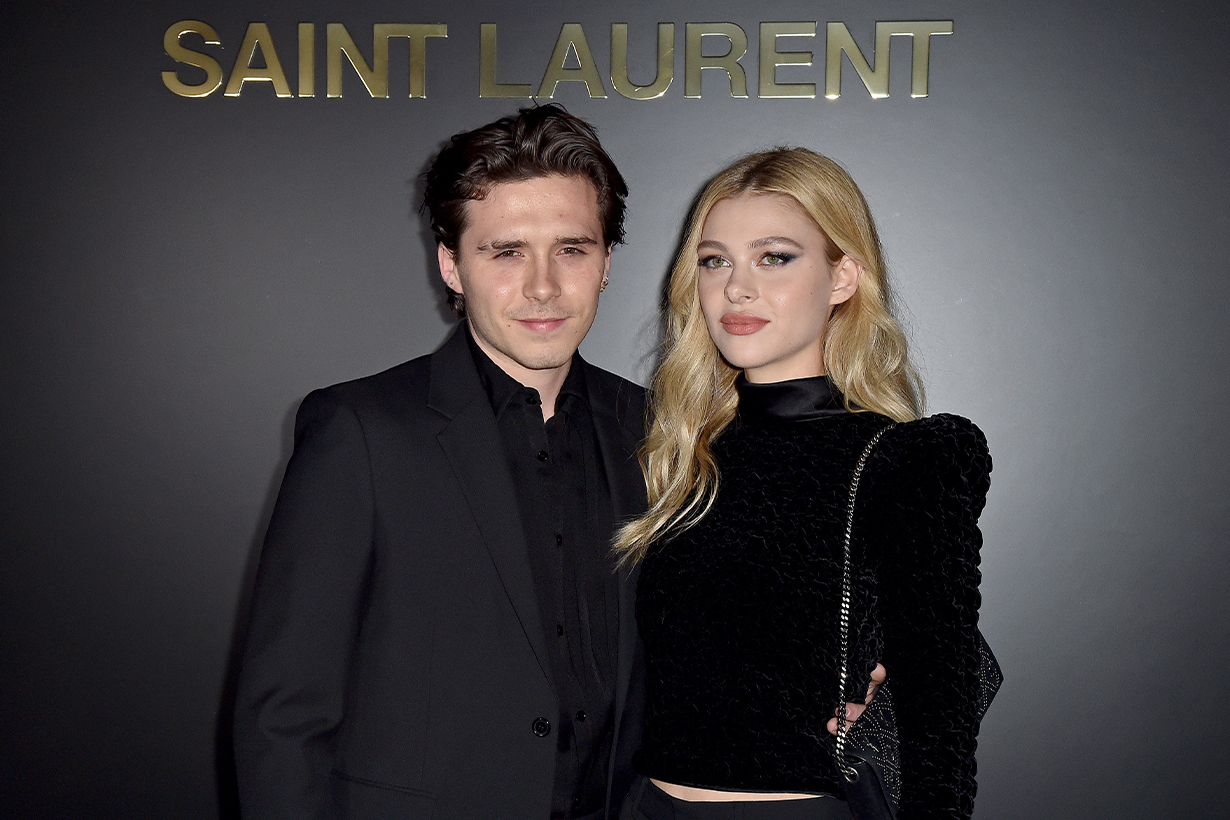Brooklyn Beckham Nicola Peltz David Beckham Victoria Beckham St Paul's Cathedral Royal Wedding Officer of the Order of the British Empire,OBE Celebrities Wedding Marriage Nelson Peltz Donald Trump Justine Bieber Anwar Hadid