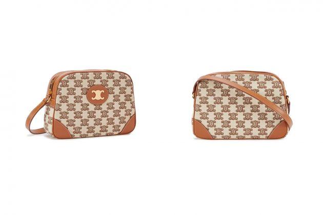 celine Triomphe Embroidery handbags 2020 boston cabas clutch