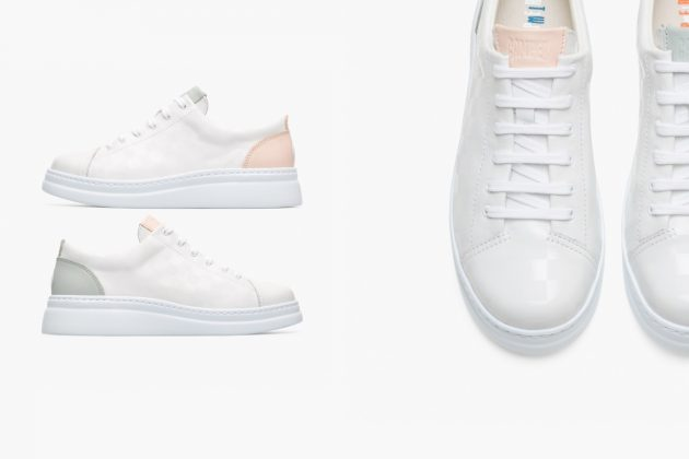 whiter sneakers camper twins 2020 fw new