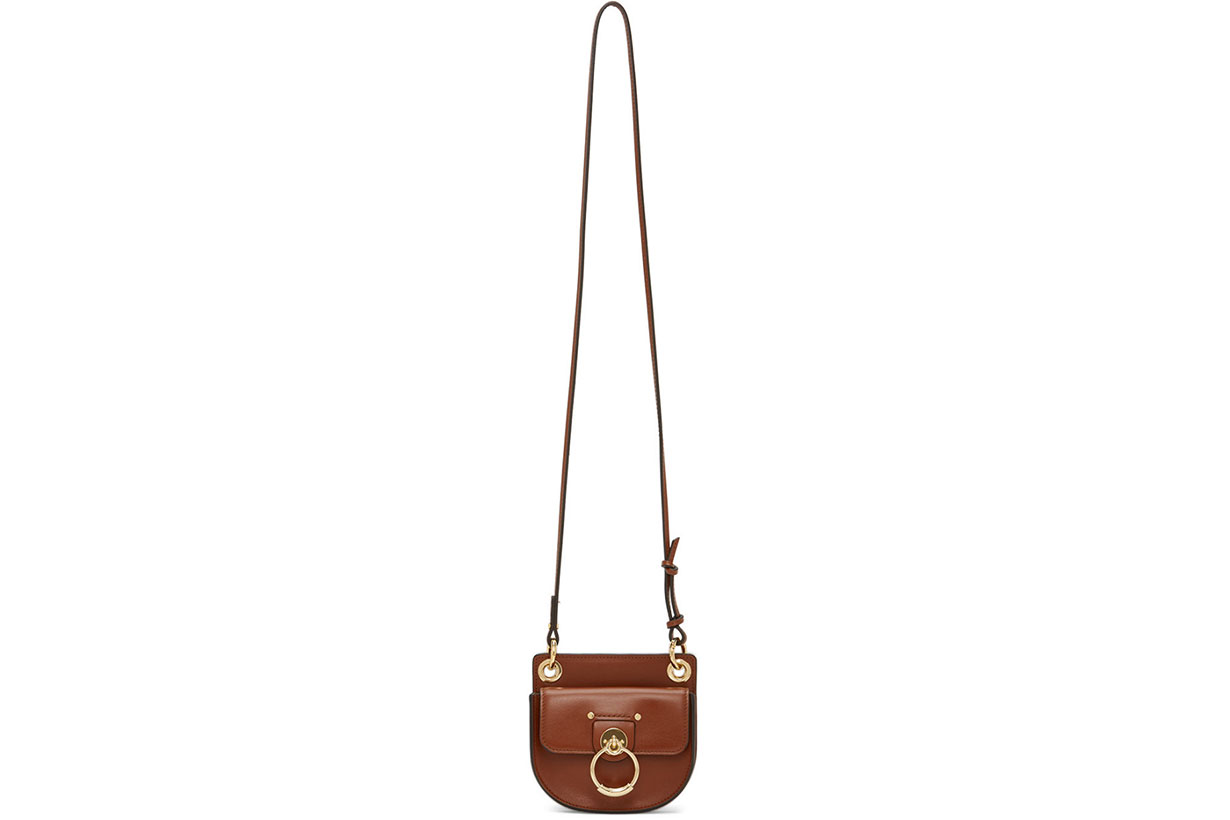Chloé Brown Mini Tess Bag