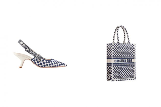 dior blue dot book tote capsule limited collection japan 2020