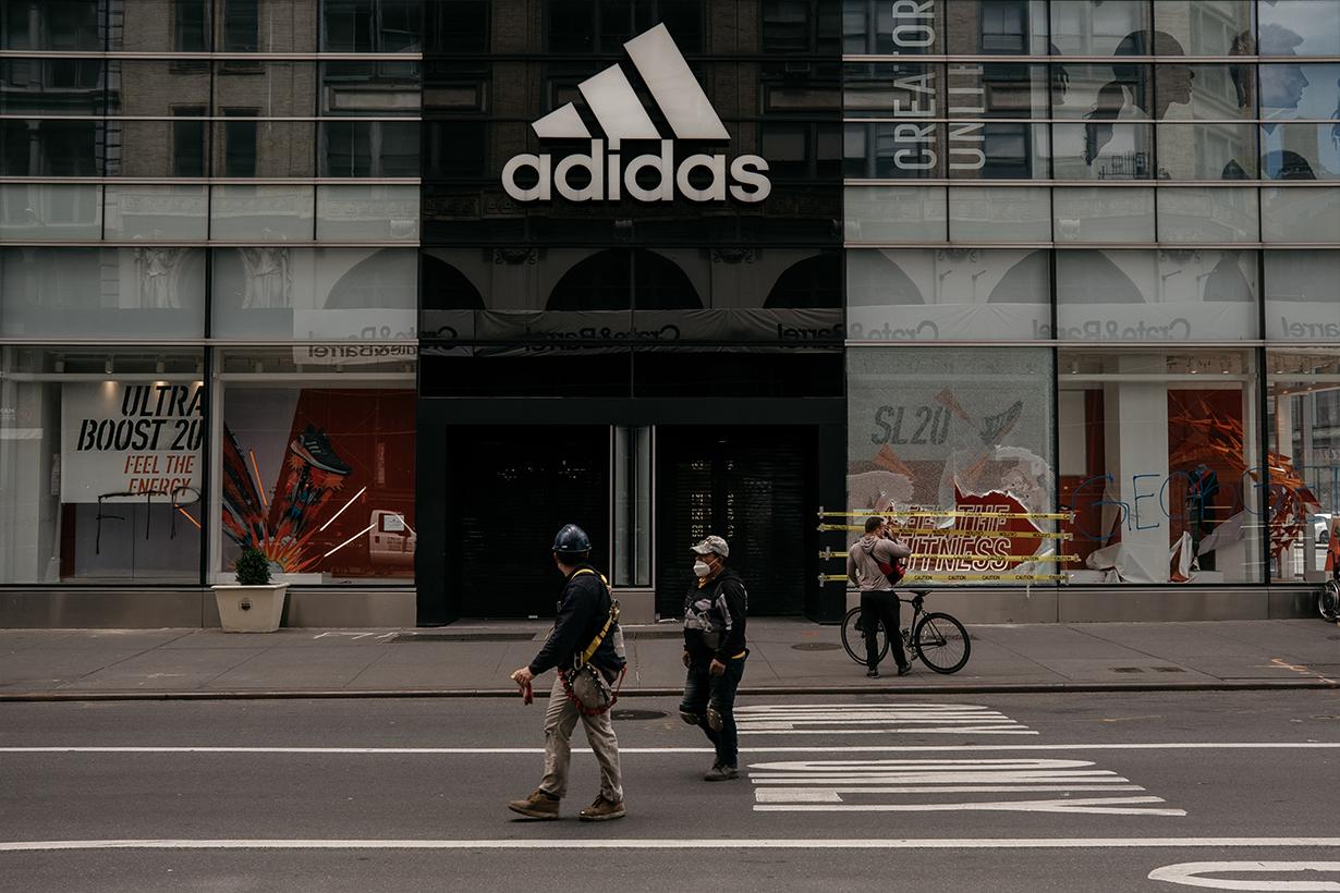 Adidas quarter two financial reports recovery covid-19 coronavirus