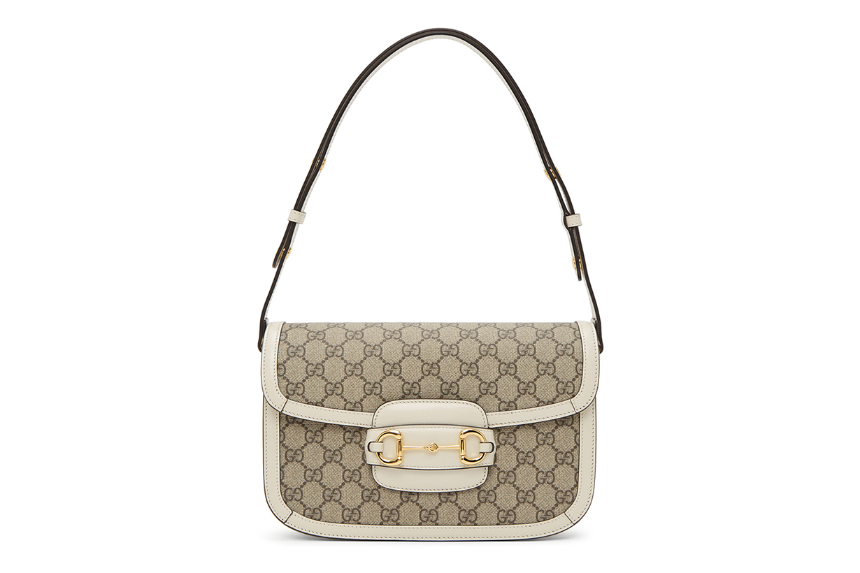 Gucci 1955 Horsebit bags Beige & White handbags 2020