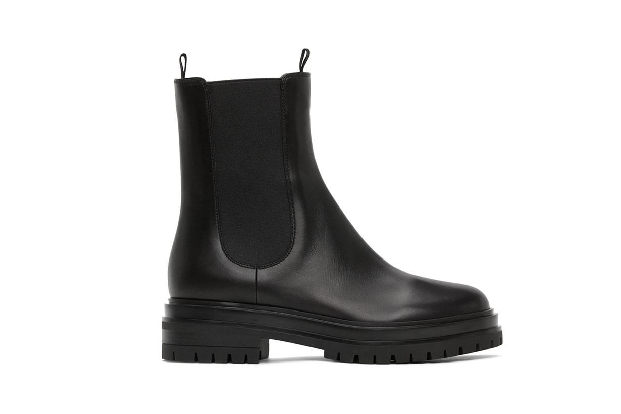 Gianvito Rossi Black Chester Boots