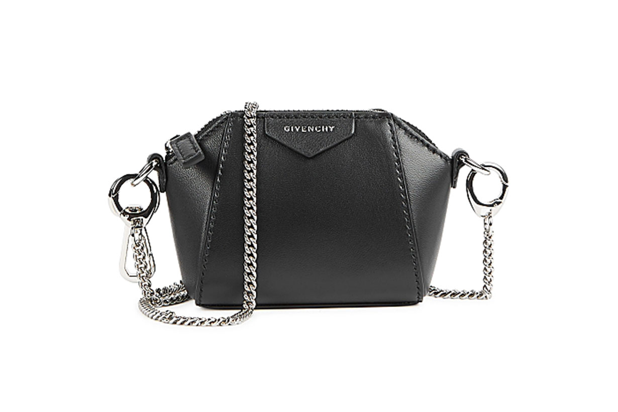 GIVENCHY  Antigona Baby black leather cross-body bag