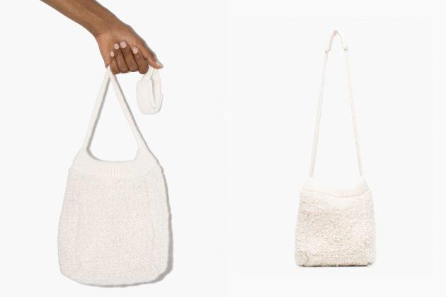 jil sander wool bucket handbag knit 2020 where buy price
