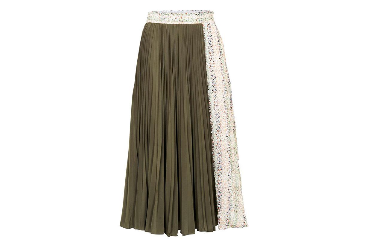 JW ANDERSON Pleated skirt