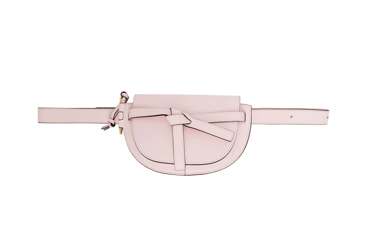 Loewe Pink Mini Gate Bum Bag