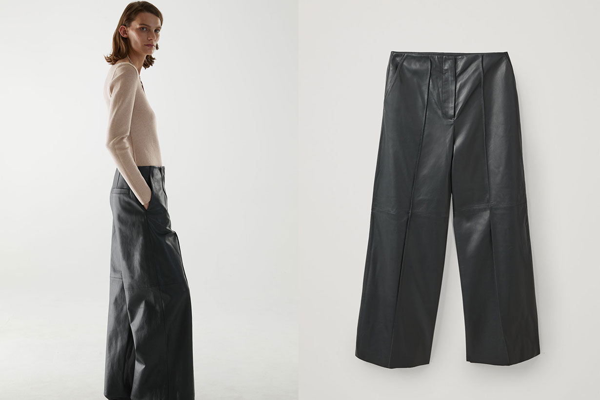 LONG LEATHER TROUSERS