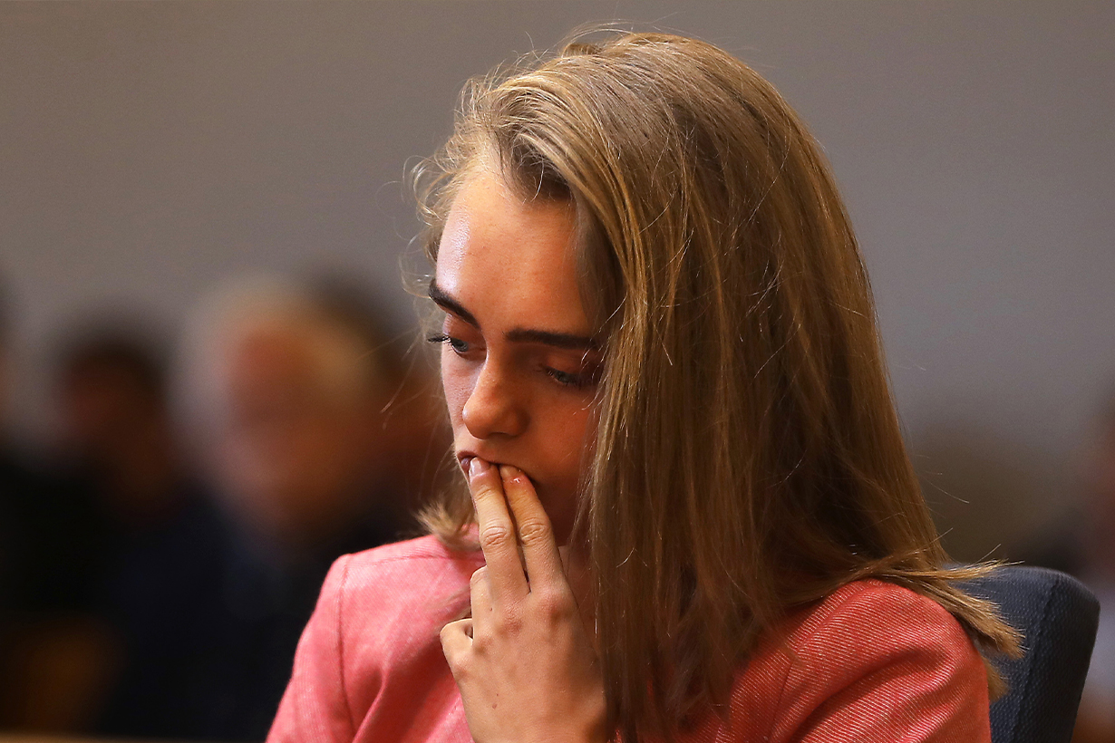 Michelle Carter Conrad Roy Death of Conrad Roy texting suicide case 2014 Involuntary manslaughter Freedom of Speech Elle Fanning Hulu Drama 2020