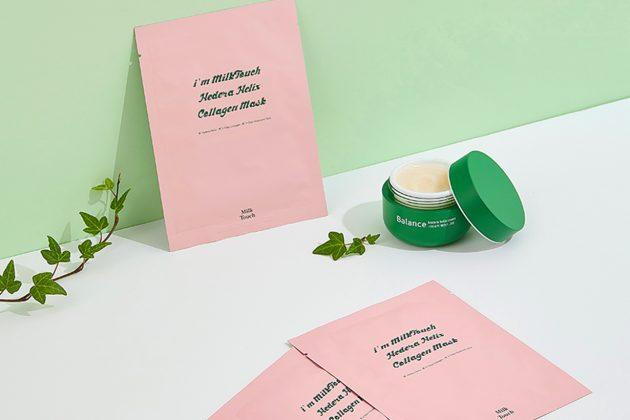 Milk Touch Hedera Helix Collagen Mask Moisturizing  Skin elasticity Korean Skincare