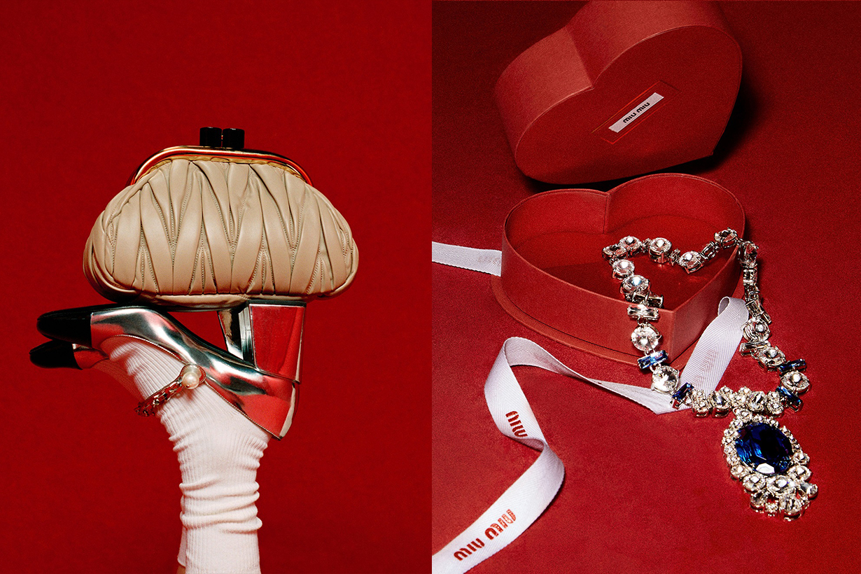 miu miu Valentine's Day limited collection accessories 2020