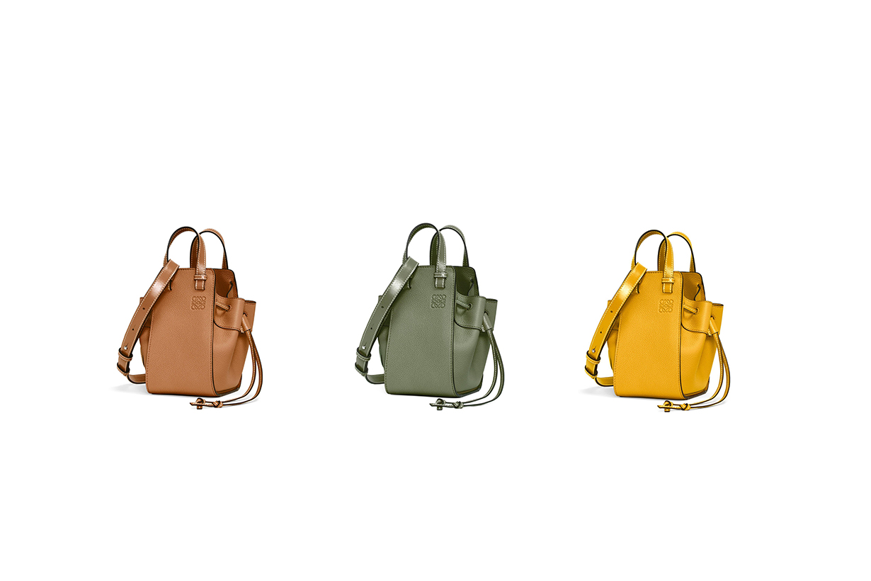 Loewe Hammock bags 2020 pre fall handbags collection