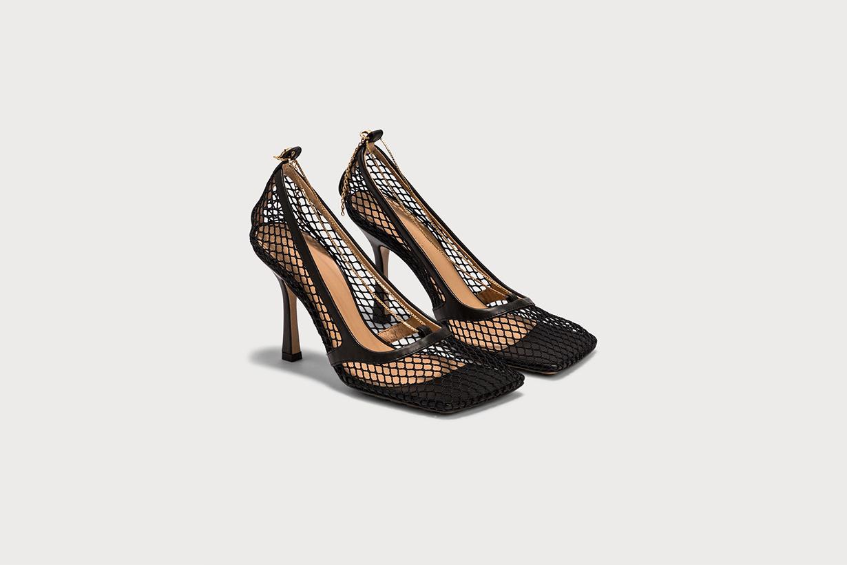 Bottega Veneta square toe sandals shoes accessories hbx online shopping