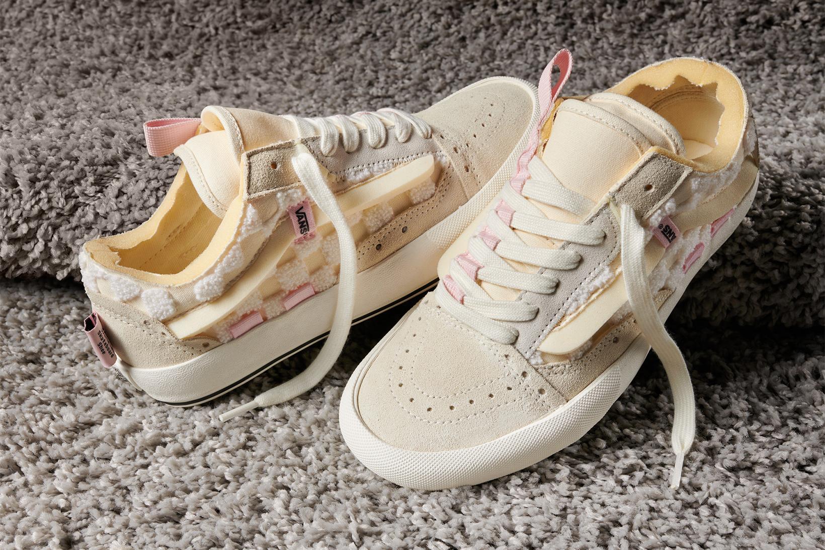 Vans Old Skool Pink Cream Color Classic Era