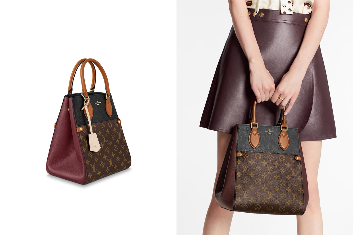 Louis Vuitton Fold Tote bags 2020 fw handbags collection