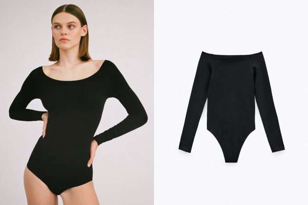 zara bodysuit shopping basic sexy 2020