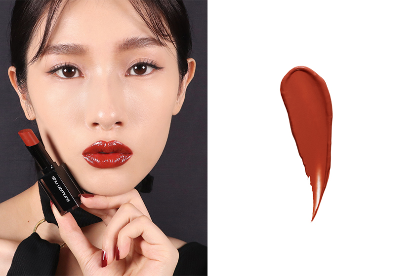 shu uemura brownish Red Lipsticks 2020 summer Lipsticks