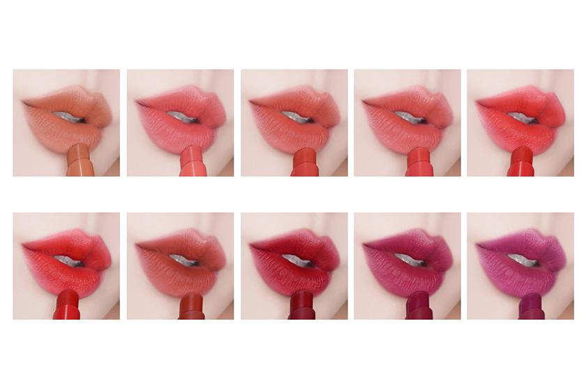 innisfree vivid cotton stick Matte Lipsticks