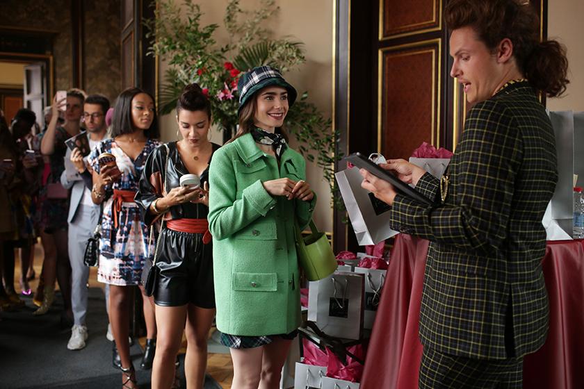 Netflix Emily in Paris Lily Collins trailer
