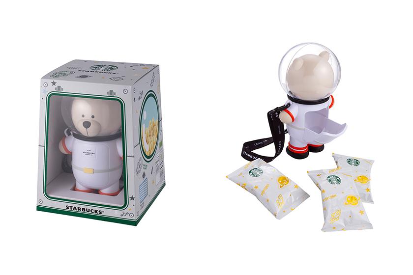 Starbucks Mid-Autumn Festival Bear Astronaut Popcorn Bucket