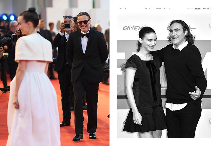 Joaquin Phoenix Rooney Mara first child born