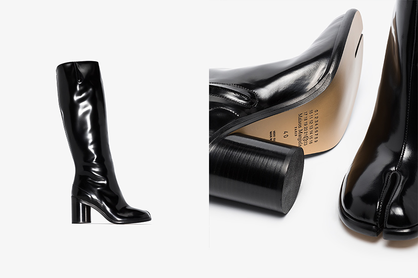 Maison Margiela Knee High Tabi Boots