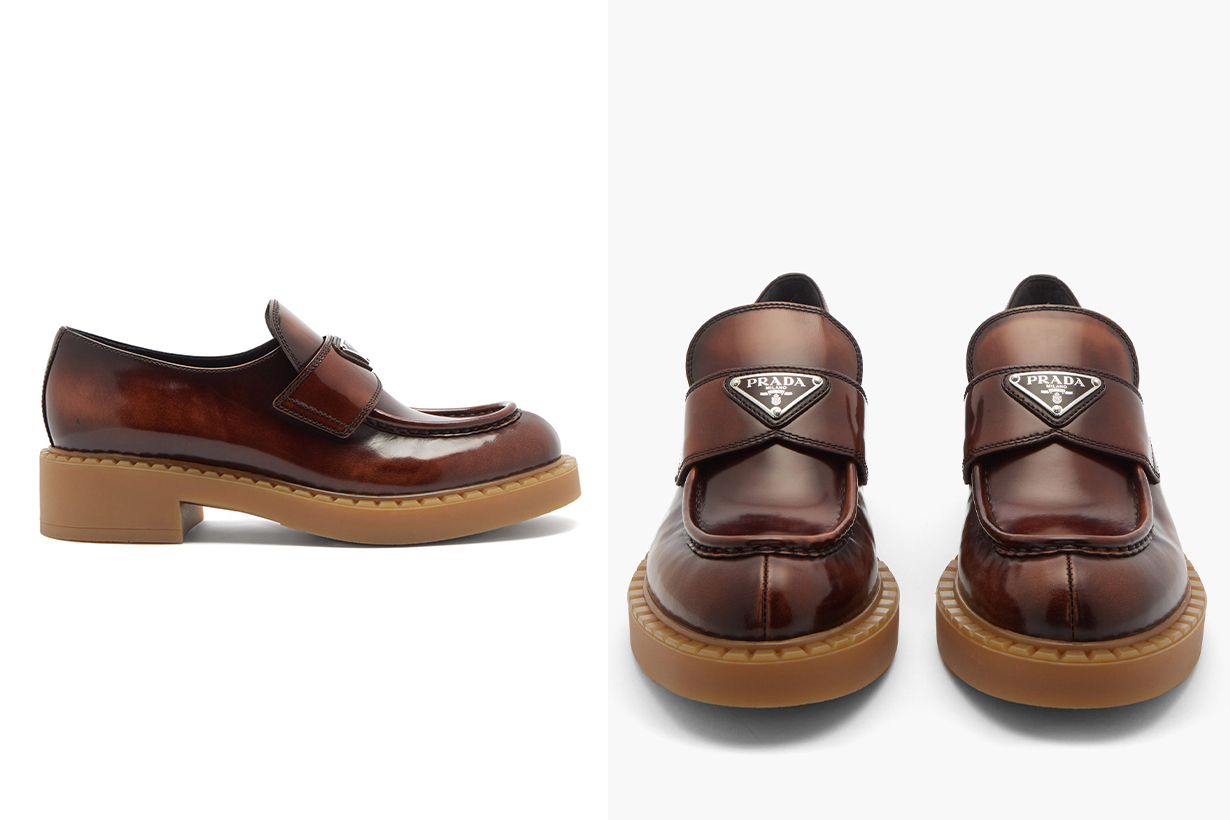 2020 Fall Winter Shoes trends Loafer chunky style Gucci Chloe Hermes Margiela