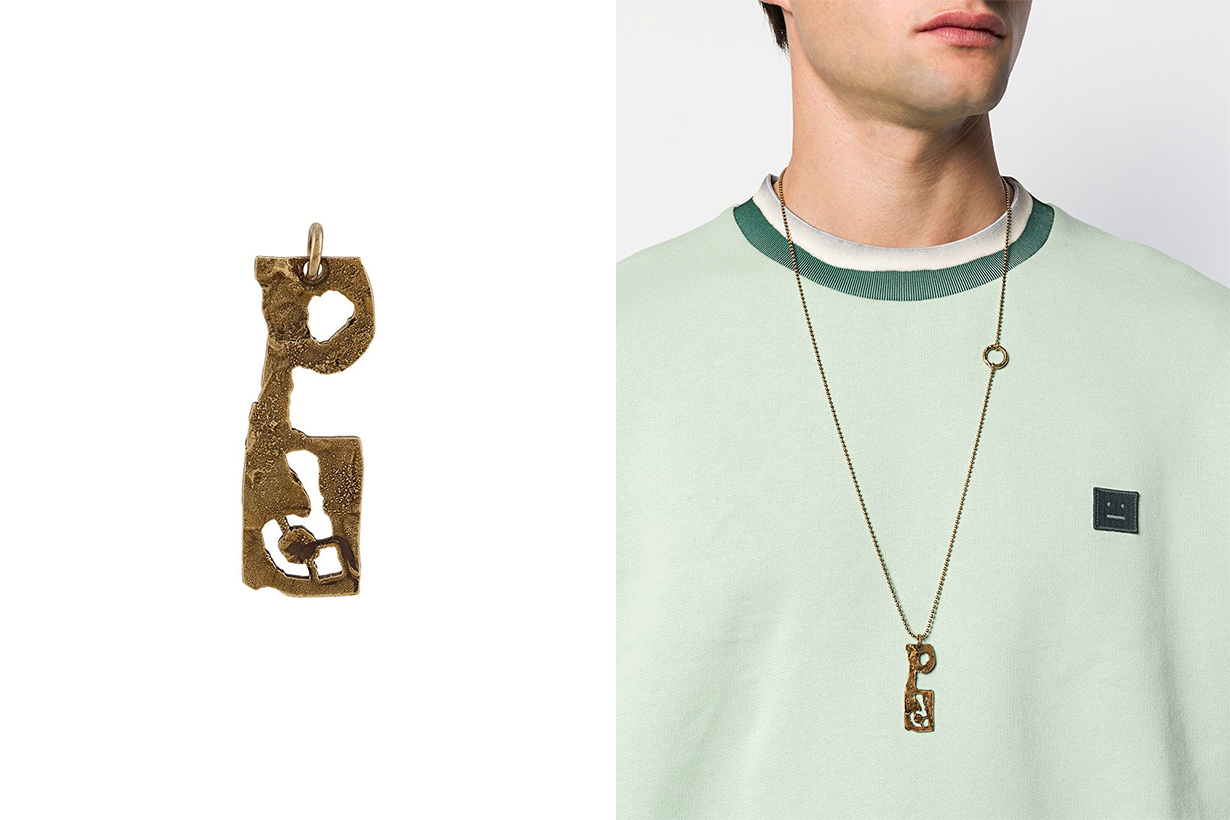 Alphabet Accessories Personalized Accessories Bracelet Necklace Earrings Pendant jewelry trend 2020 fall winter