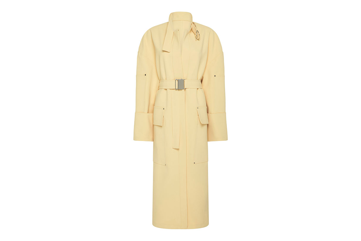 Bon Bon Belted Buckle Trench