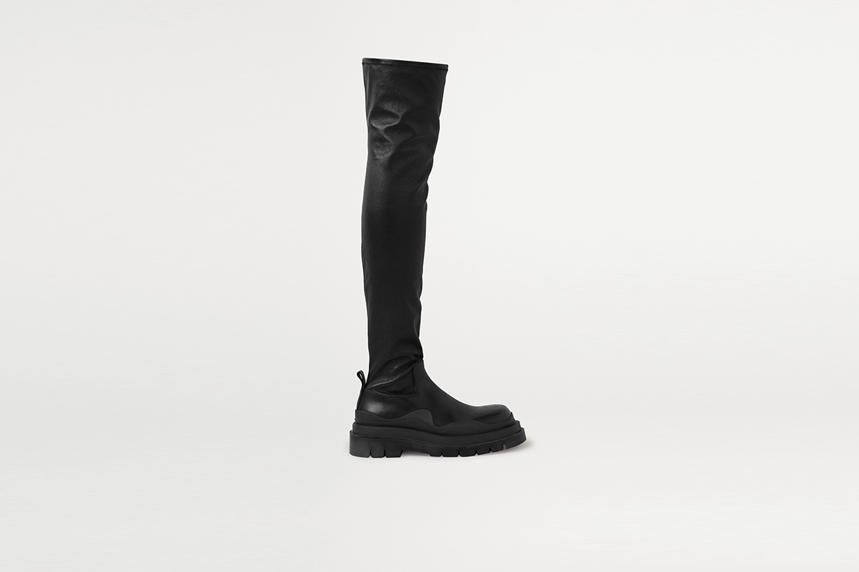 knee high boots Korean instagram fashion blogger shoes 2020fw