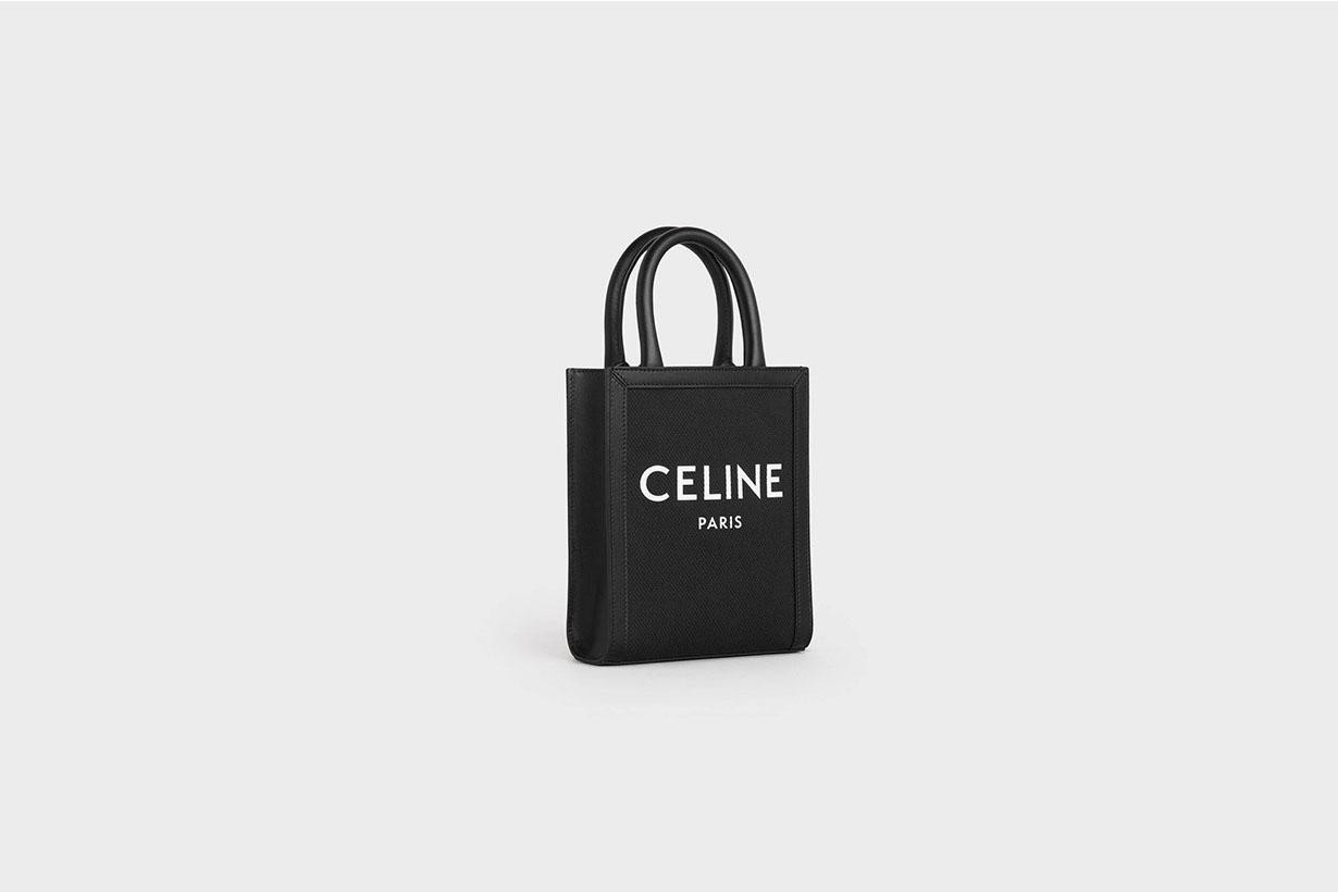 celine mini vertical cabas black handbags 2020