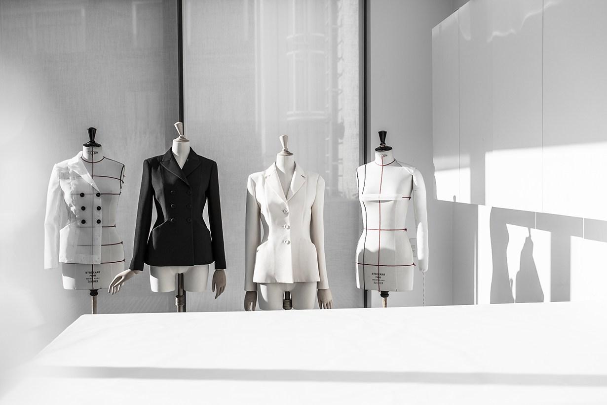 dior savoir faire knitted bar jacket 2020 fw