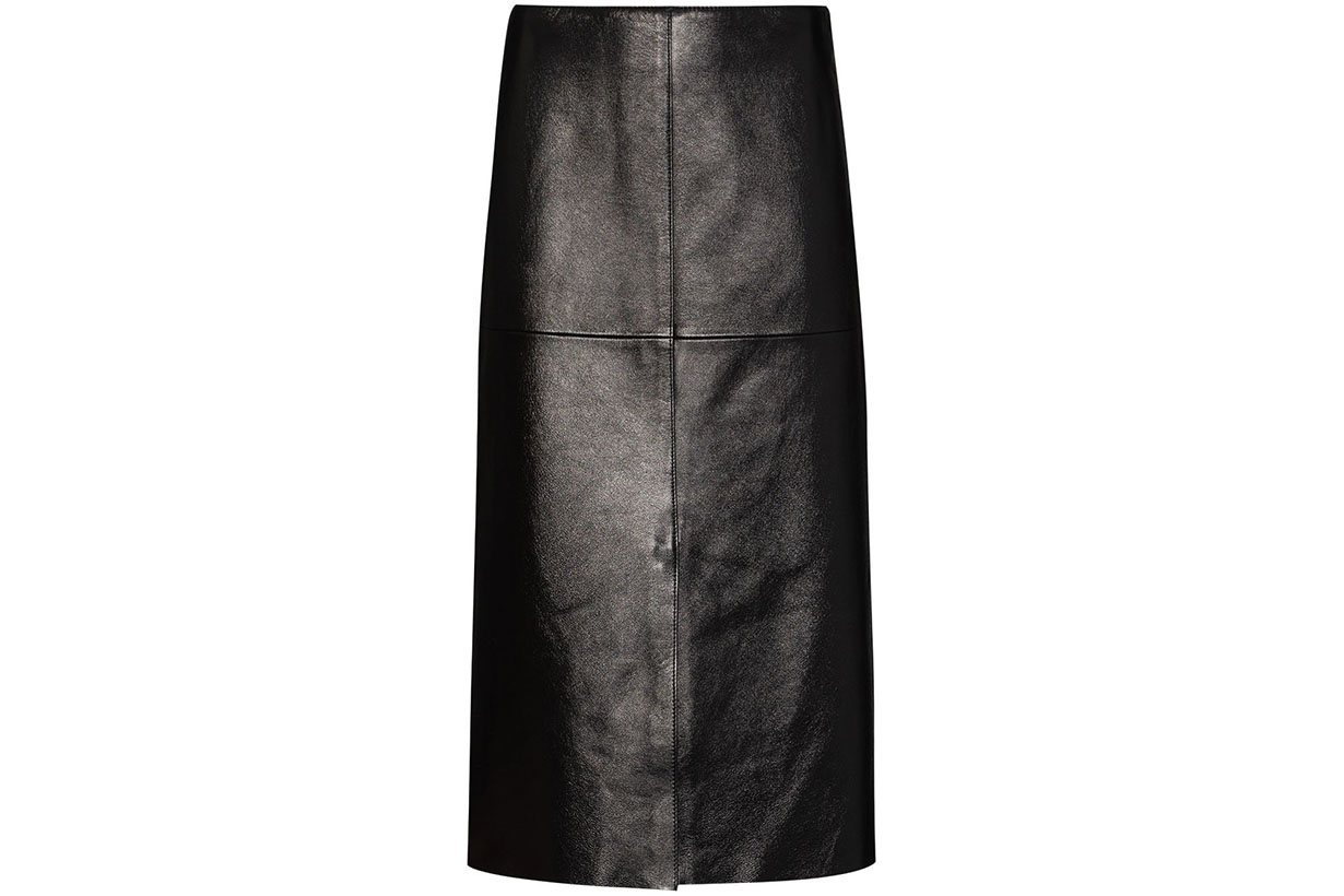 leather skirt trends 2020 fw fashion bloggers