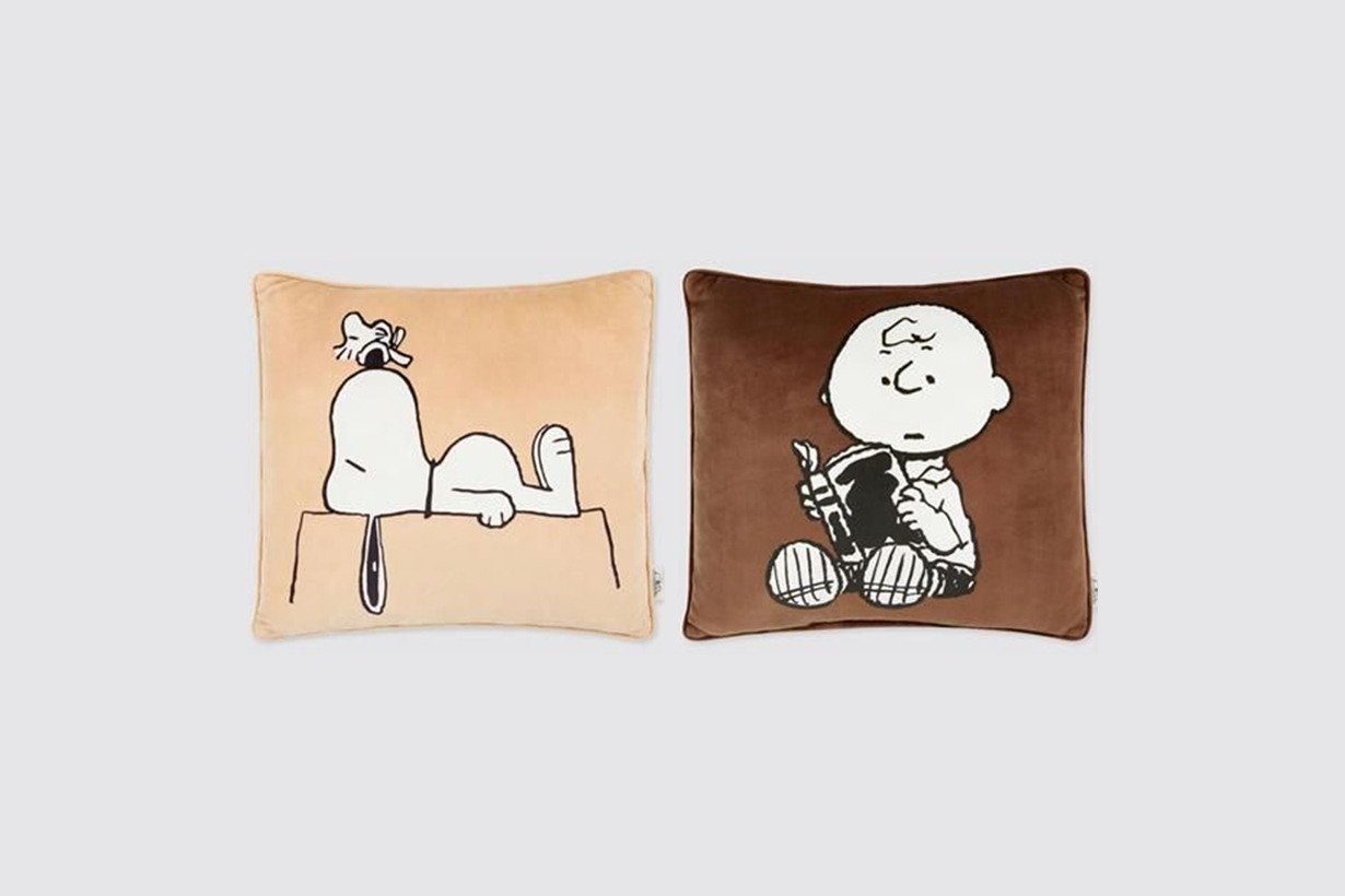 Uniqlo x snoopy PEANUTS 2020 fw collection limited Japan
