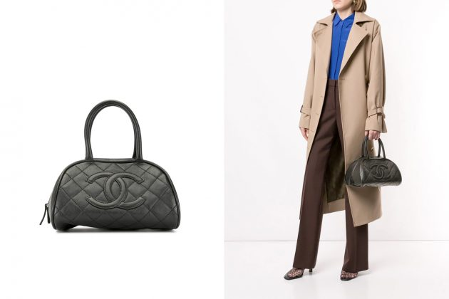 chanel second hand farfetch vintage mini handbags