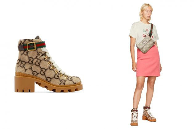 Gucci Boots GG Logo Fria Ankle 2020