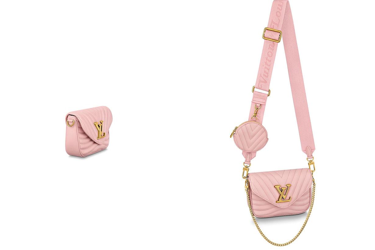 Louis Vuitton New Wave Multi Pochette handbags rose ballerine