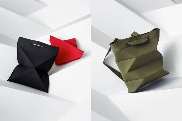 tatami good goods issey miyake fold bag 2020 new