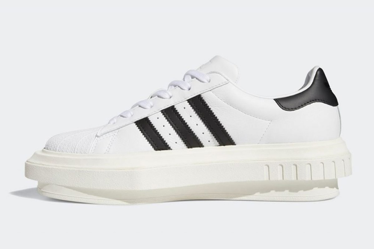 beyonce ivy park Adidas originals superstar platform first look sneakers release