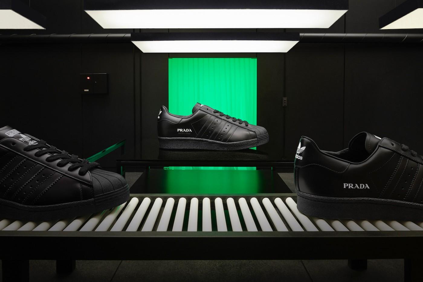 prada Adidas original superstar sneakers Collaboration 2020 release info