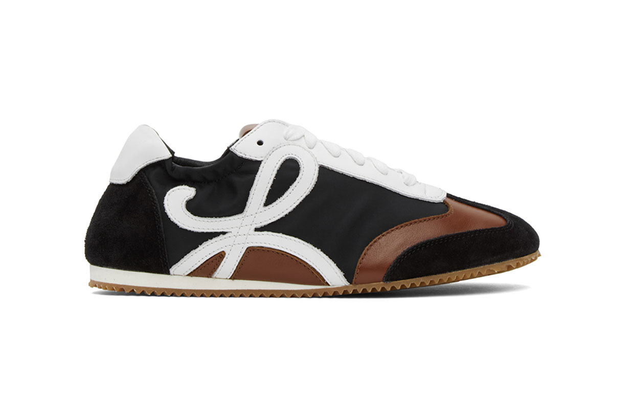 Loewe Black & Brown Ballet Runner Sneakers