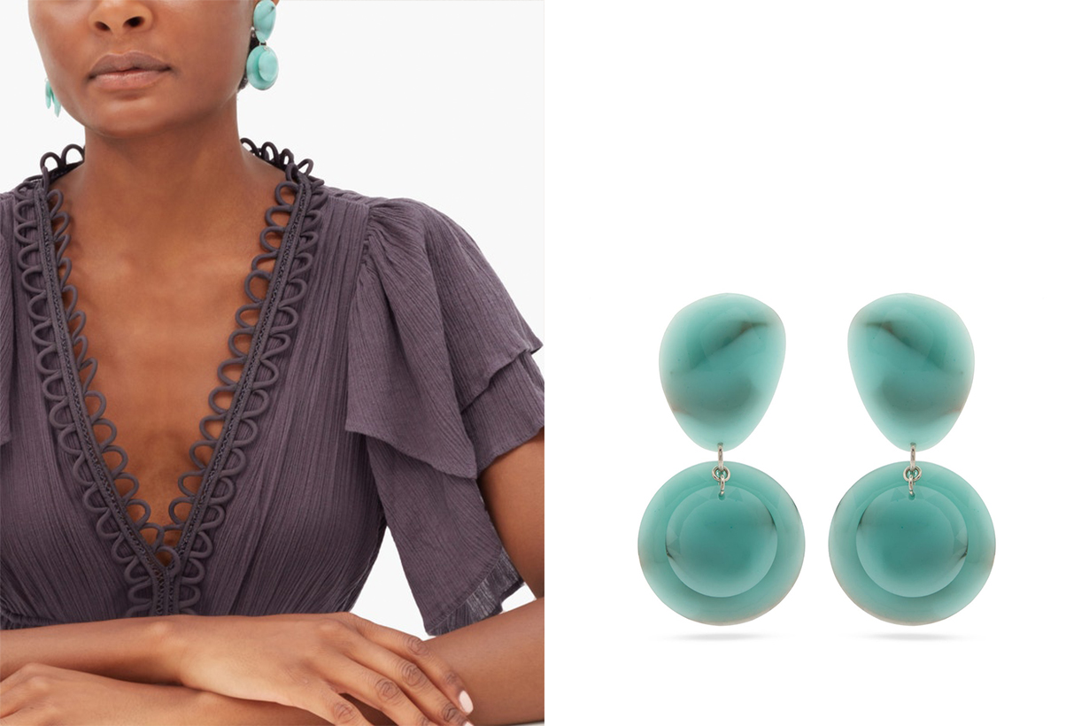 Oversized Earrings Exaggerating Designs 2020 Fall Winter YVONNE LÉON ISABEL MARANT GIVENCHY PACO RABANNE SHRIMPS CHLOÉ  ETRO TIMELESS PEARLY VERSACE Earrings