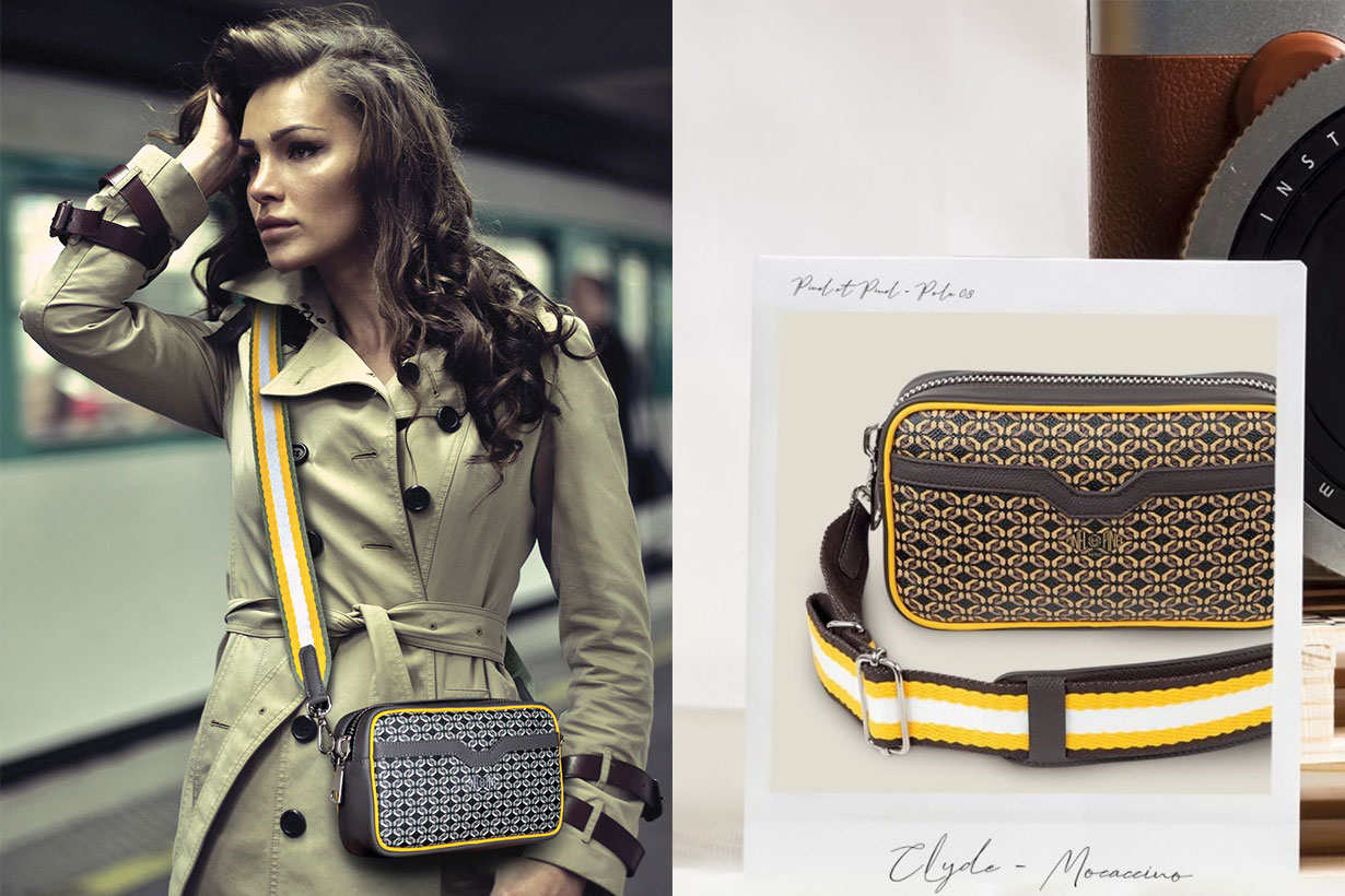French Style Clyde Crossbody Bag Collection